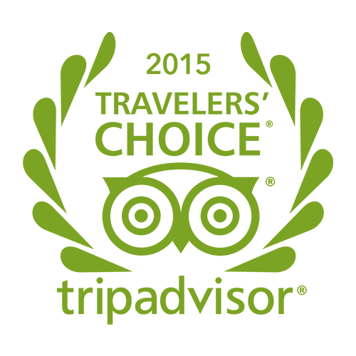 Tripadvisor 2015 travellers' choice
